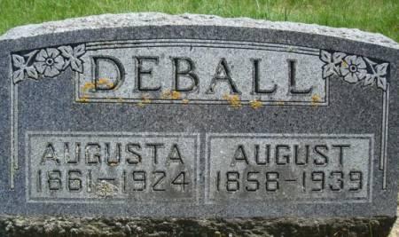 DEBALL, AUGUSTA - Clayton County, Iowa | AUGUSTA DEBALL