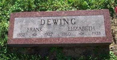 GWEEN DEWING, ELIZABETH - Clayton County, Iowa | ELIZABETH GWEEN DEWING