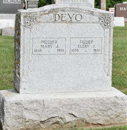 DEYO, MARY J. - Clayton County, Iowa | MARY J. DEYO