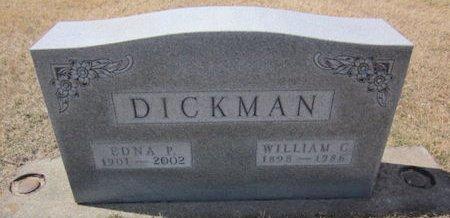 DICKMAN, EDNA P. - Clayton County, Iowa | EDNA P. DICKMAN