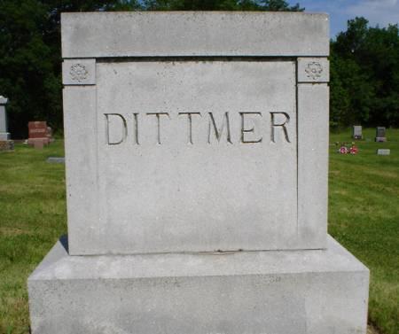 DITTMER, FAMILY STONE - Clayton County, Iowa | FAMILY STONE DITTMER