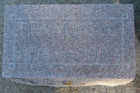 DONAHE, FRANCES A. - Clayton County, Iowa | FRANCES A. DONAHE