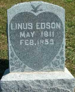 EDSON, LINUS - Clayton County, Iowa   LINUS EDSON