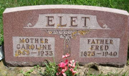 ELET, FRED - Clayton County, Iowa | FRED ELET