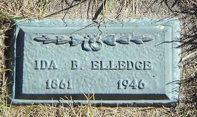 LEWIS ELLEDGE, IDA B. - Clayton County, Iowa | IDA B. LEWIS ELLEDGE