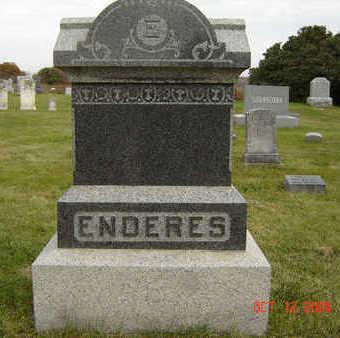 ENDERES, GEORGE C. - Clayton County, Iowa | GEORGE C. ENDERES