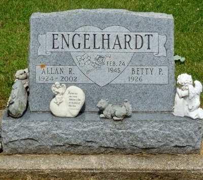 ENGELHARDT, ALLAN R. - Clayton County, Iowa   ALLAN R. ENGELHARDT