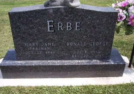 ERBE, MARY JANE - Clayton County, Iowa | MARY JANE ERBE
