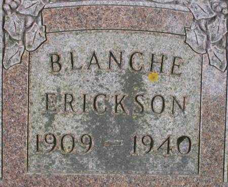 BOOTS ERICKSON, BLANCHE - Clayton County, Iowa   BLANCHE BOOTS ERICKSON