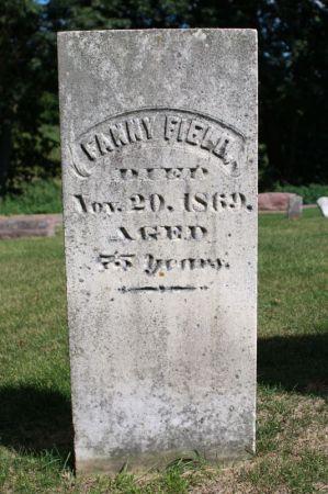 FIELD, FANNIE - Clayton County, Iowa | FANNIE FIELD