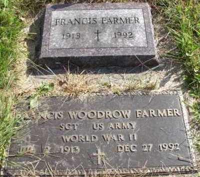 FARMER, FRANCIS - Clayton County, Iowa   FRANCIS FARMER