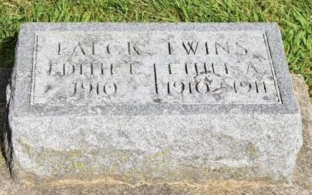 FALCK, EDITH L. - Clayton County, Iowa   EDITH L. FALCK