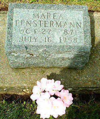FENSTERMANN, MAREA - Clayton County, Iowa | MAREA FENSTERMANN