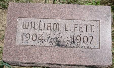 FETT, WILLIAM L. - Clayton County, Iowa   WILLIAM L. FETT