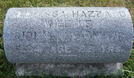HAZZARD FIRMAN, CLARISSA - Clayton County, Iowa   CLARISSA HAZZARD FIRMAN