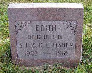 FISHER, EDITH - Clayton County, Iowa   EDITH FISHER