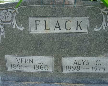 FLACK, ALYS G. - Clayton County, Iowa | ALYS G. FLACK