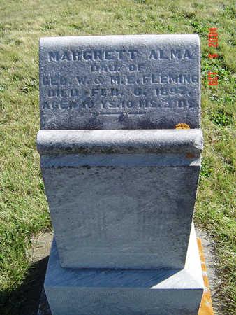 FLEMING, MARGRETT ALMA - Clayton County, Iowa | MARGRETT ALMA FLEMING