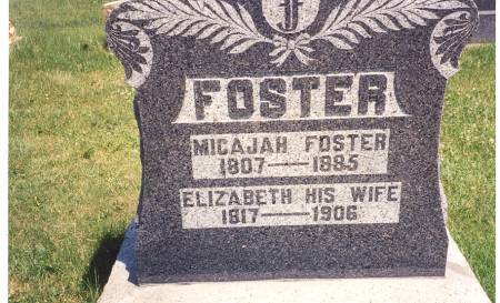 FOSTER, MICAJAH - Clayton County, Iowa | MICAJAH FOSTER