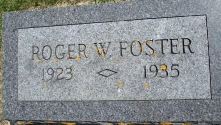 FOSTER, ROGER W. - Clayton County, Iowa | ROGER W. FOSTER