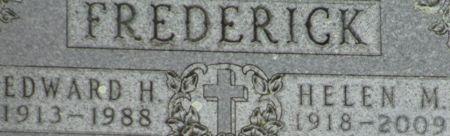 FREDERICK, EDWARD HENRY - Clayton County, Iowa | EDWARD HENRY FREDERICK