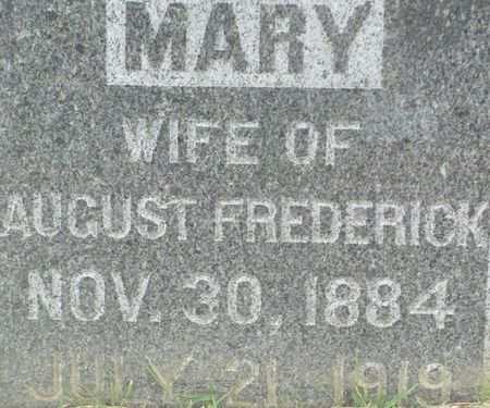 FREDERICK, MARY 'MARIA' - Clayton County, Iowa   MARY 'MARIA' FREDERICK