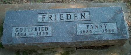 FRIEDEN, GOTTFRIED - Clayton County, Iowa | GOTTFRIED FRIEDEN