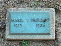 FRIEDEN, MARIE B. - Clayton County, Iowa | MARIE B. FRIEDEN