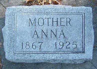 FRIEDLEY, ANNA - Clayton County, Iowa | ANNA FRIEDLEY