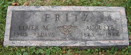 FRITZ, ELMER M. - Clayton County, Iowa   ELMER M. FRITZ