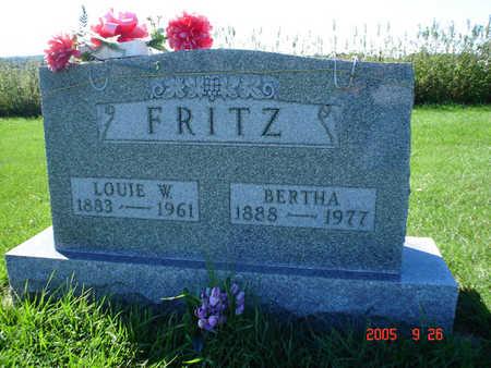 JASTER FRITZ, BERTHA - Clayton County, Iowa | BERTHA JASTER FRITZ