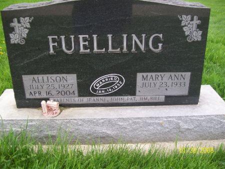 KALKE FUELLING, MARY ANN - Clayton County, Iowa | MARY ANN KALKE FUELLING