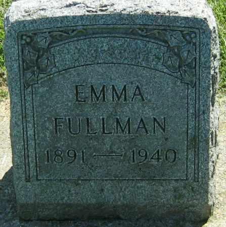 FULLMAN, EMMA - Clayton County, Iowa   EMMA FULLMAN