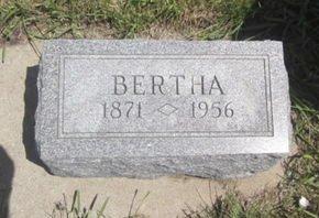 GALL, BERTHA - Clayton County, Iowa | BERTHA GALL