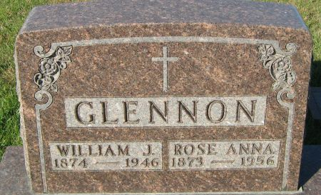 GLENNON, ROSE ANNA - Clayton County, Iowa   ROSE ANNA GLENNON