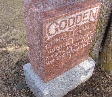 GODDEN, THOMAS E. - Clayton County, Iowa | THOMAS E. GODDEN