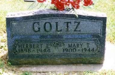 GOLTZ, HERBERT EARL - Clayton County, Iowa | HERBERT EARL GOLTZ