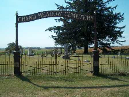 GRAND MEADOW, CEMETERY - Clayton County, Iowa | CEMETERY GRAND MEADOW