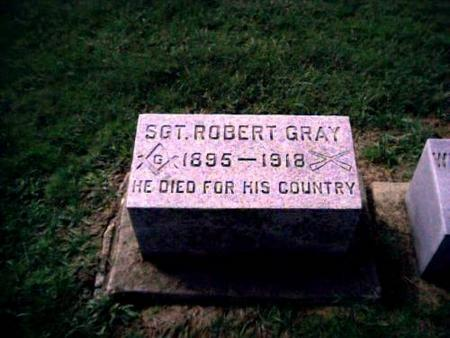 GRAY, SGT ROBERT - Clayton County, Iowa | SGT ROBERT GRAY