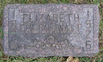 GREENAWALT, ELIZABETH - Clayton County, Iowa | ELIZABETH GREENAWALT