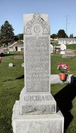 GREIMANN, ANNA  CATHERINE MARIE - Clayton County, Iowa | ANNA  CATHERINE MARIE GREIMANN