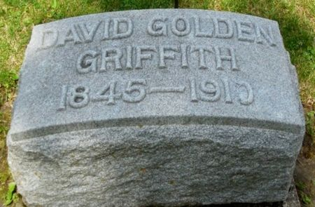 GRIFFITH, DAVID GOLDEN - Clayton County, Iowa   DAVID GOLDEN GRIFFITH
