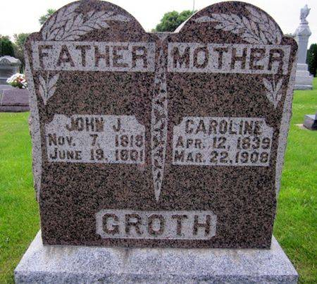 GROTH, JOHN J. - Clayton County, Iowa | JOHN J. GROTH
