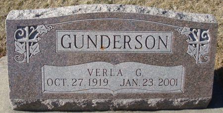 GUNDERSON, VERLA G. - Clayton County, Iowa | VERLA G. GUNDERSON