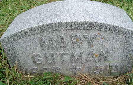 GUTMAN, MARY - Clayton County, Iowa | MARY GUTMAN