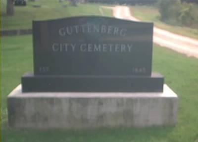 GUTTENBURG CITY, CEMETERY - Clayton County, Iowa | CEMETERY GUTTENBURG CITY