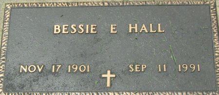 HALL, BESSIE ELIZA - Clayton County, Iowa | BESSIE ELIZA HALL