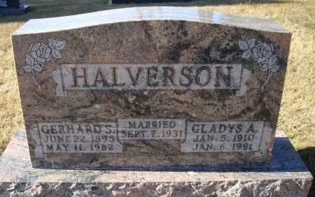 HALVERSON, GLADYS A. - Clayton County, Iowa | GLADYS A. HALVERSON