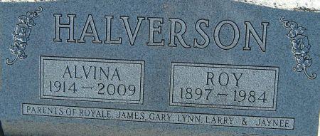 RURODEN HALVERSON, ALVINA IDA - Clayton County, Iowa | ALVINA IDA RURODEN HALVERSON