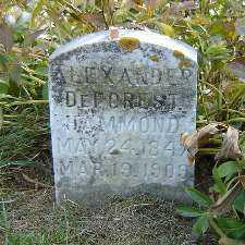 HAMMOND, ALEXANDER DEFOREST - Clayton County, Iowa | ALEXANDER DEFOREST HAMMOND